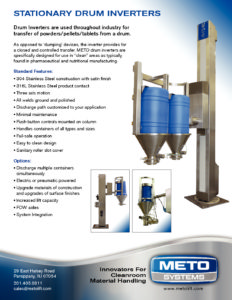 Telescoping Mobile Drum Inverter - METO Systems